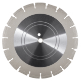 green concrete saw blade